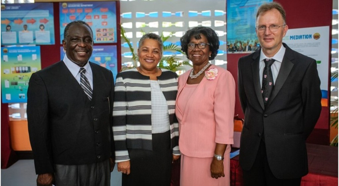 Eastern Caribbean Supreme Court (ECSC) Officially Opened its 50th Anniversary Exhibition