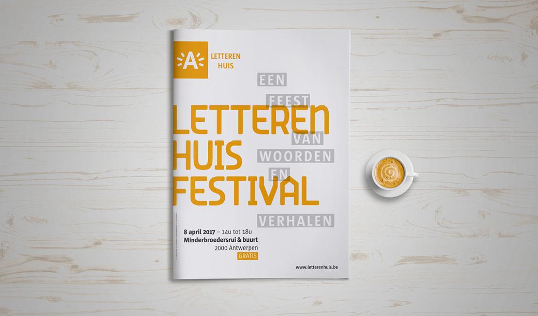 Het Letterenhuisfestival: een feest van woorden & verhalen