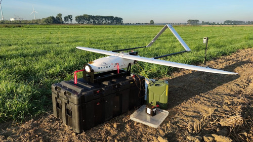 Port of Antwerp carries out unique trials of small, unmanned aircraft ('fixed-wing drones')