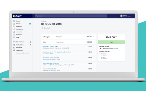 Shopify brings more clarity to billing for merchants