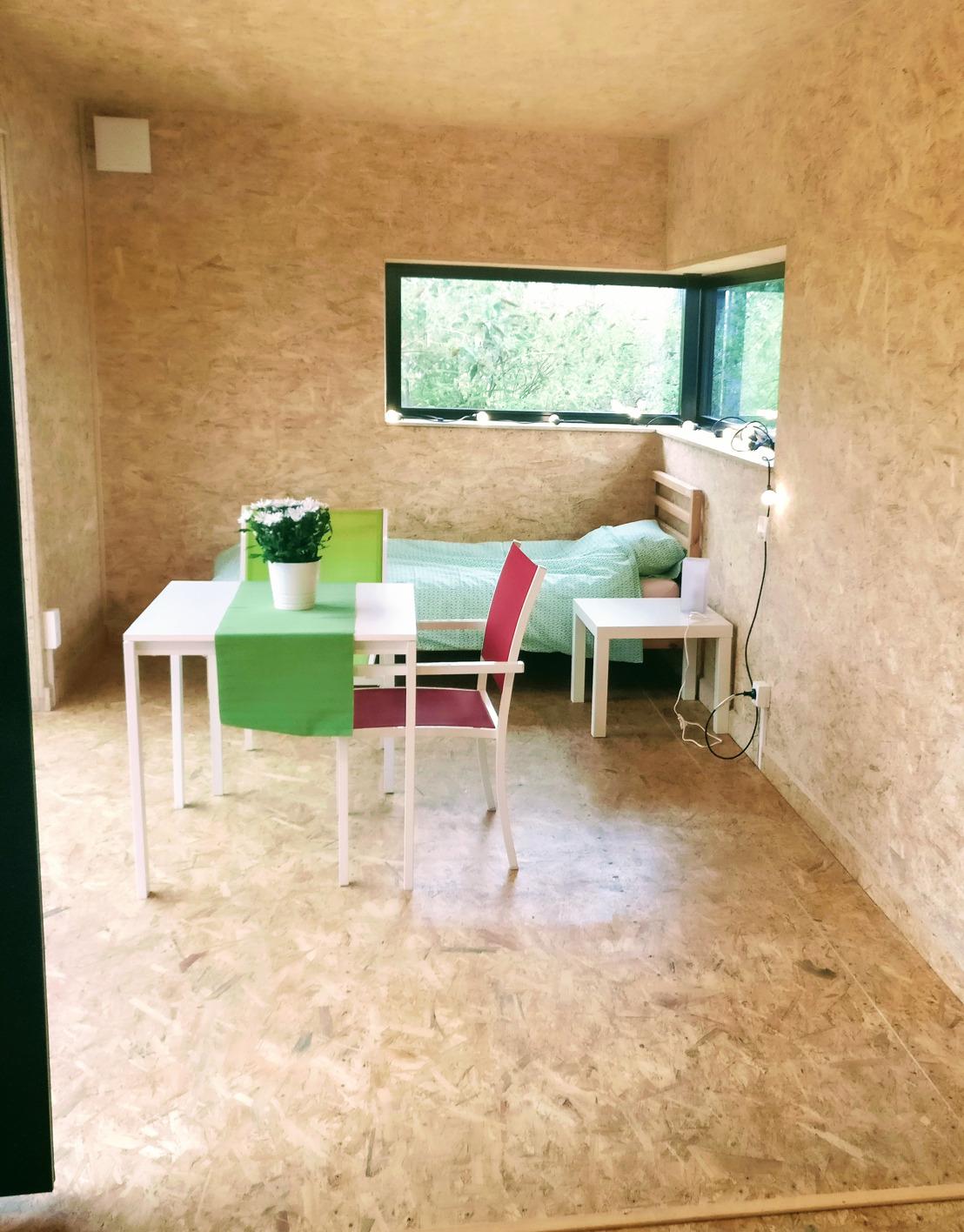 Communiqué de presse - Loger les personnes sans-abri dans des habitats modulaires en valorisant les friches urbaines