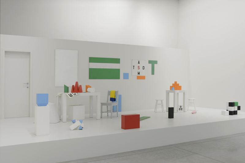 Guy de Cointet, Tell Me courtesy Centre Pompidou, Paris Musée national d'art moderne (c) Isabelle Arthuis