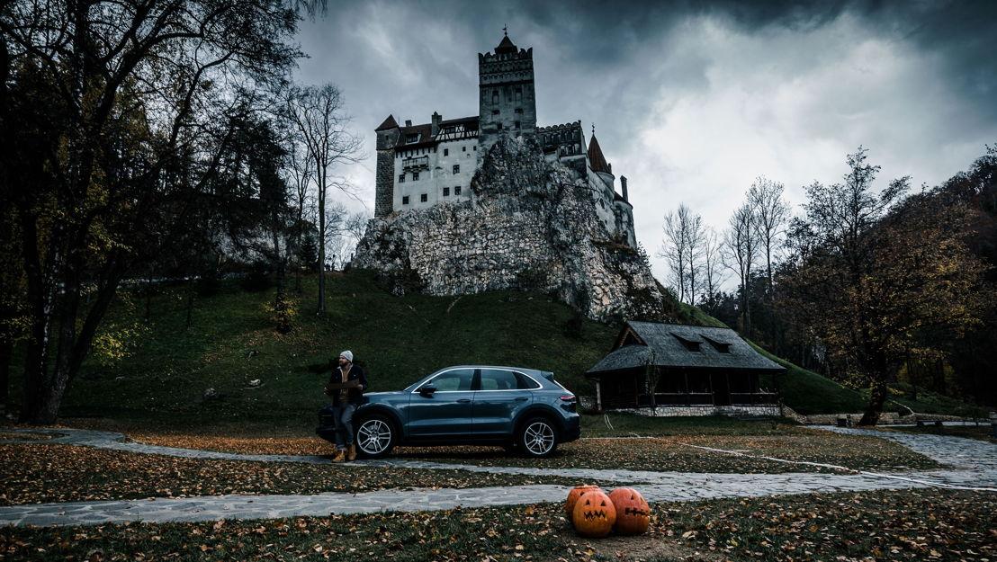 No se ha comprobado si el príncipe realmente vivió en este castillo, pero es casi ciento por ciento fiel a la descripción en la novela de Stoker.