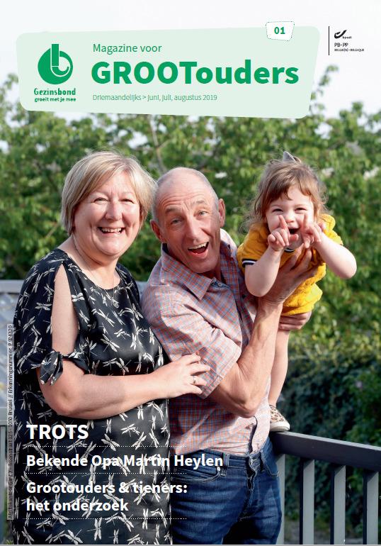 Gezinsbond lanceert grootoudermagazine