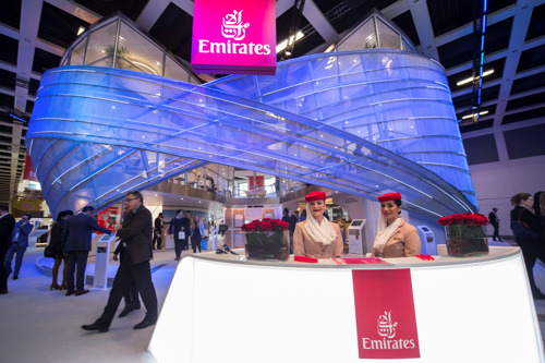 Emirates' New A380 Onboard Lounge to make its ATM debut