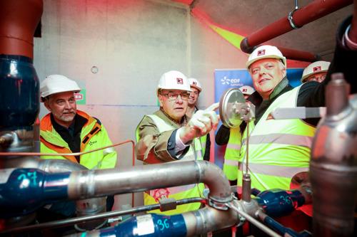 530 nieuwe woningen aangesloten op het grootste stadsverwarmingsnet van België