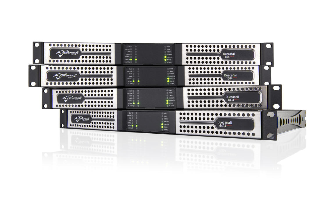 POWERSOFT EXTENDS DUECANALI AND QUATTROCANALI RANGES