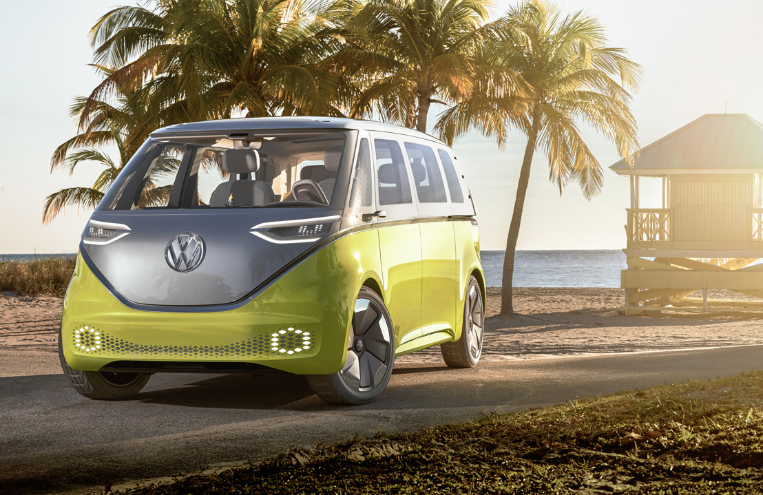 European premiere of the Volkswagen I.D. Buzz at the Geneva International Motor Show