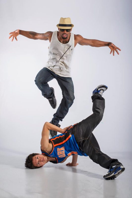 Local act Showman Entertainment - circus, acrobat and break dancing