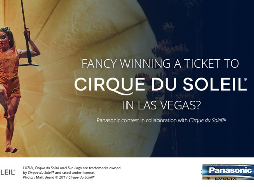 Panasonic turns up the magic with a chance to win a trip to Las Vegas