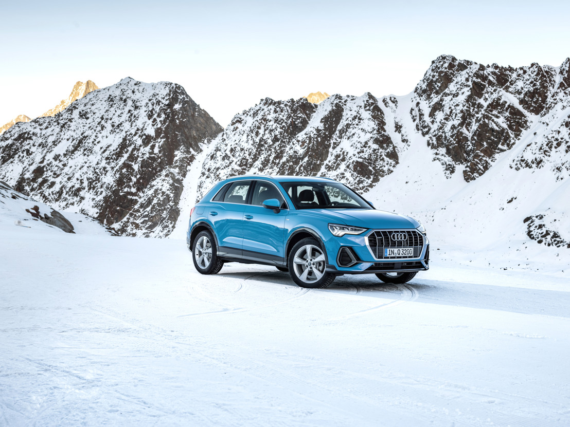Vijf sterren voor de Audi Q3 bij de Euro NCAP-test