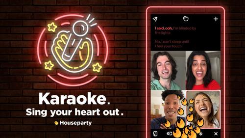 ¡Es hora de Karaoke en Houseparty!
