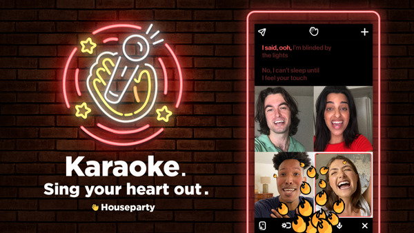Preview: ¡Es hora de Karaoke en Houseparty!