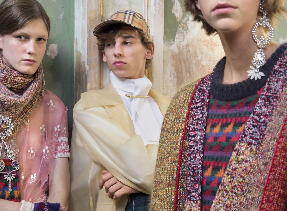 "Burberry presenta su pasarela Septiembre 2017 en la ""Old Sessions House"" en Londres"
