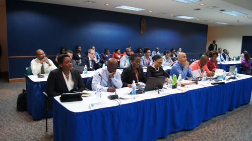ECCB hosts 4th Growth and Resilience Dialogue with Social Partners