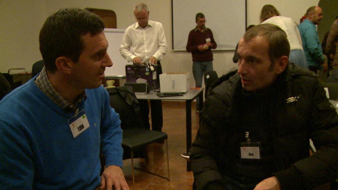 'Speeddate' Tom en Dirk - (c) Nieveranst