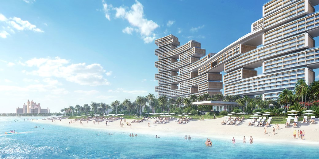 Royal Atlantis Resort and Residences - Palm Jumeirah. Estimated completion Date: Q3 2019