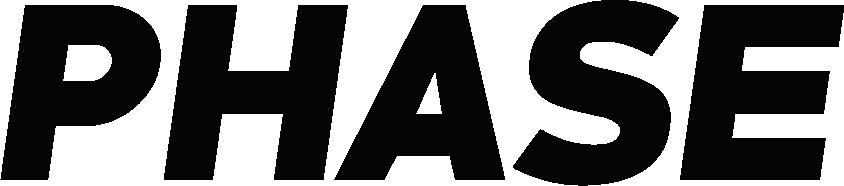 Phase official logo - Black