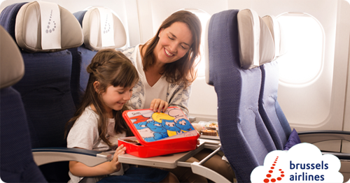 The Smurfs fly with Brussels Airlines