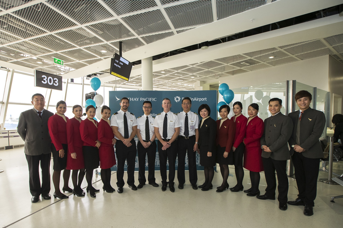 Cathay Pacific launches non-stop flight from Dublin to Hong Kong