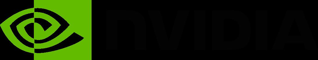 NVIDIA Logo weiss