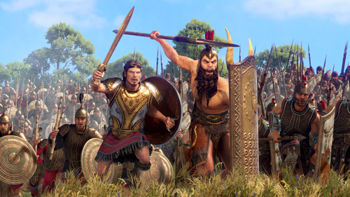 Preview: AJAX & DIOMEDES IS OUT NOW FOR A TOTAL WAR SAGA: TROY