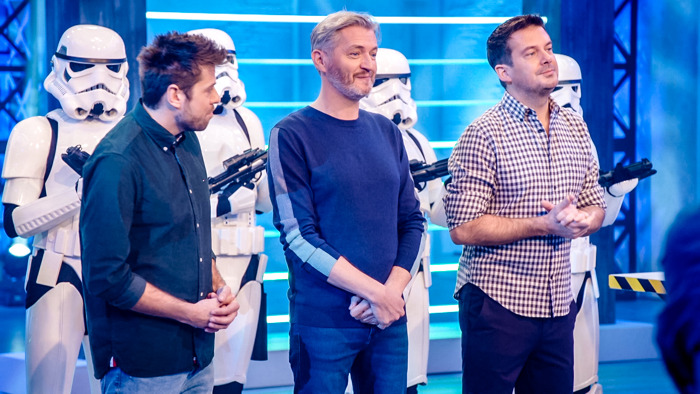 'May the force be with you' in LEGO Masters