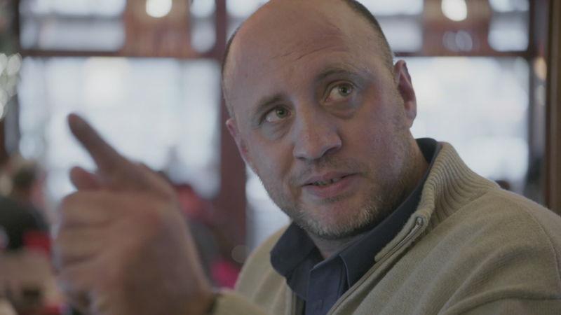 Francis, uitbater van brasserie Du Parc