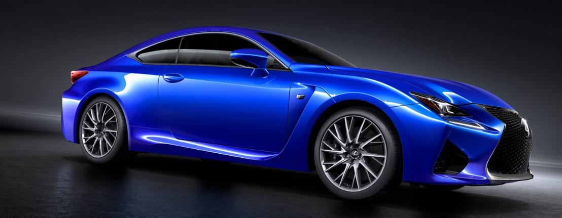 Wereldpremière van de nieuwe Lexus RC F
