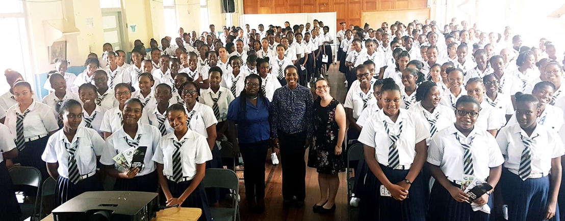 Raising students awareness on the importance of Statistics in the Caribbean