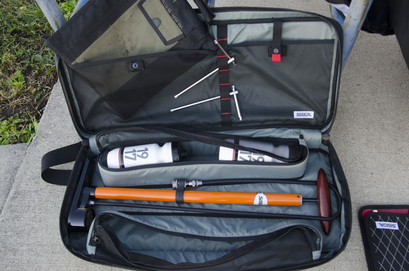 PISTA Packed in Travel Bag
