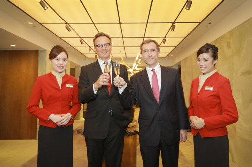 Cathay Pacific reopens The Pier First Class Lounge in Hong Kong after extensive renovations