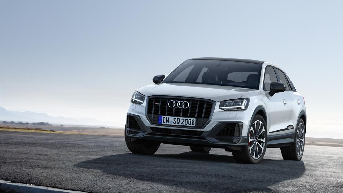 Opvallend topmodel onder de compacte SUV's: de nieuwe Audi SQ2