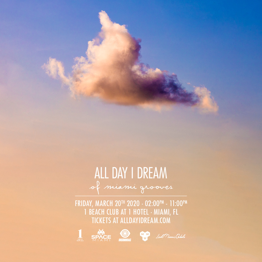 All Day I Dream Announces 2020 'All Day I Dream of Miami Grooves'