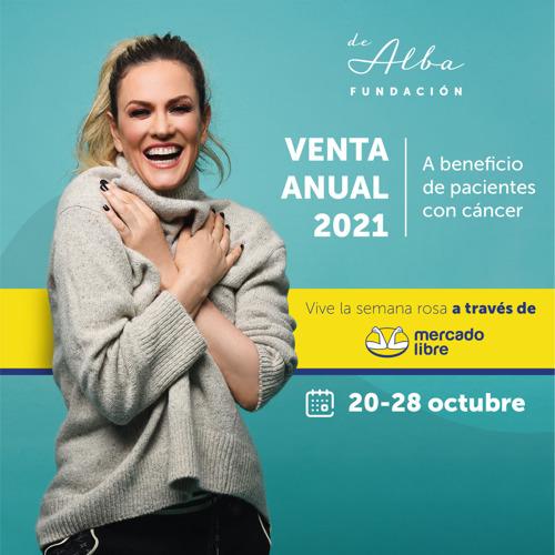 Fundación de Alba organiza su venta anual en alianza con Mercado Libre para continuar con su labor de ayudar a pacientes con cáncer