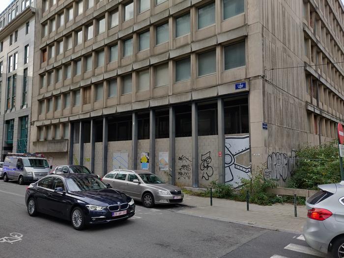 La Ville de Bruxelles et la Régie des Bâtiments soutiennent l'occupation temporaire