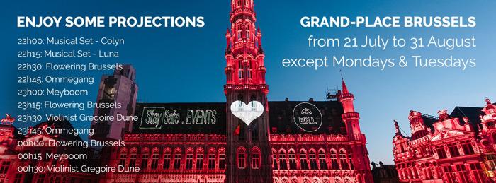 Preview: Bloementapijt dit weekend in de kijker gezet met klank- en lichtspel op de Grote Markt