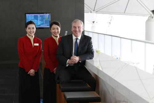 Cathay Pacific completes Business Class Lounge renovations at The Wing, the airline's flagship lounge in Hong Kong