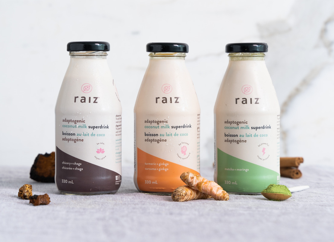 Introducing raiz™: Canada's first ready-to-consume adaptogenic superdrink