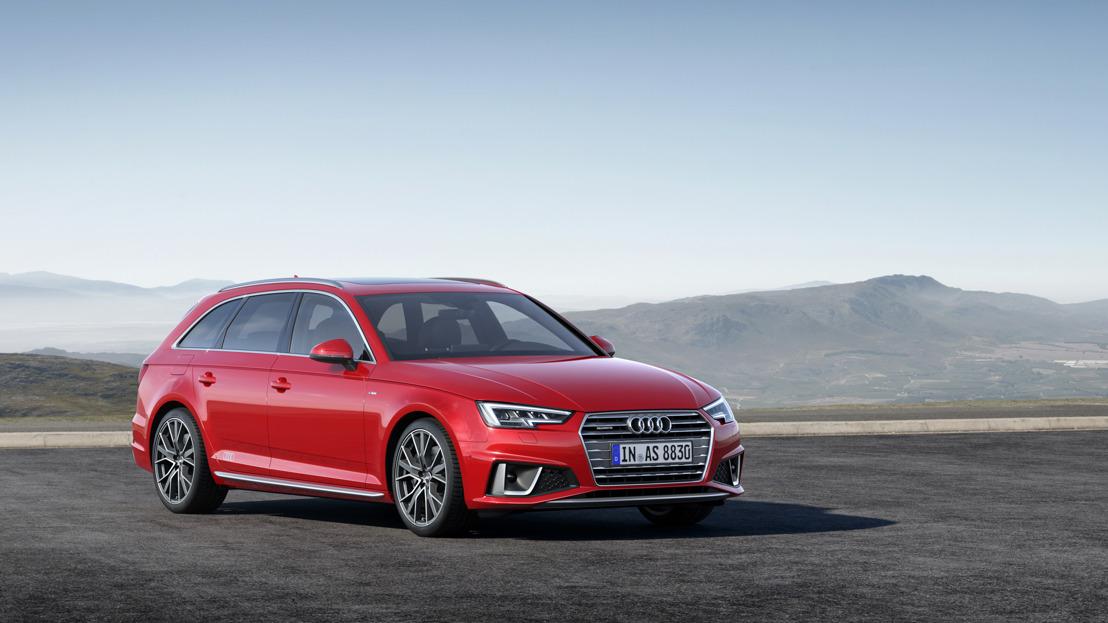 Audi A4 Berline et Audi A4 Avant : les modèles les plus vendus en forme olympique
