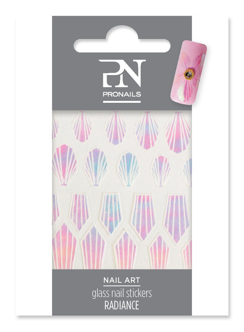 Glass Nail Stickers Radiance: € 5,10