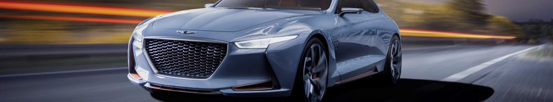 Genesis dévoile un concept de berline sportive hybride au salon automobile de New York