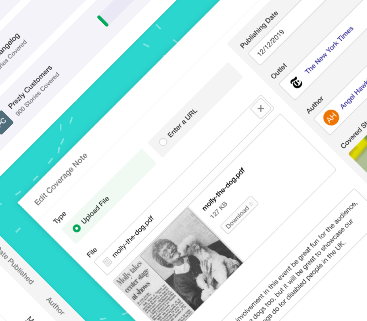 News: Upload, manage & report on your Coverage ✅