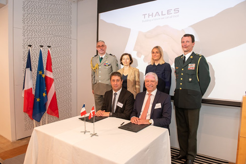 Thales and Weibel Scientific sign a cooperation agreement strengthening bonds between the Danish and French Defence industry