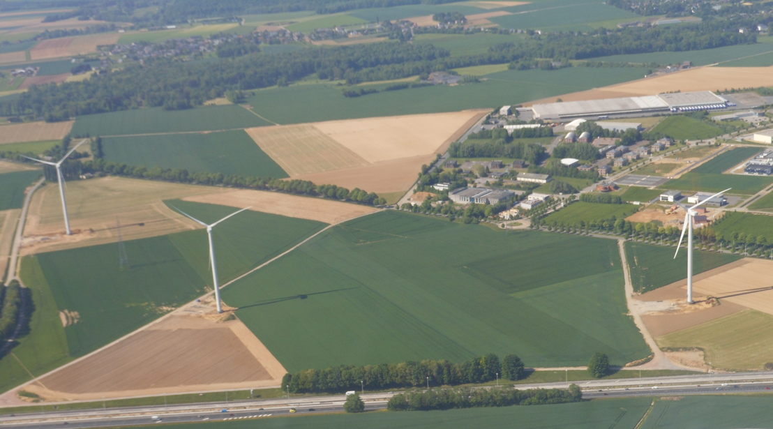 windmolens te Spy