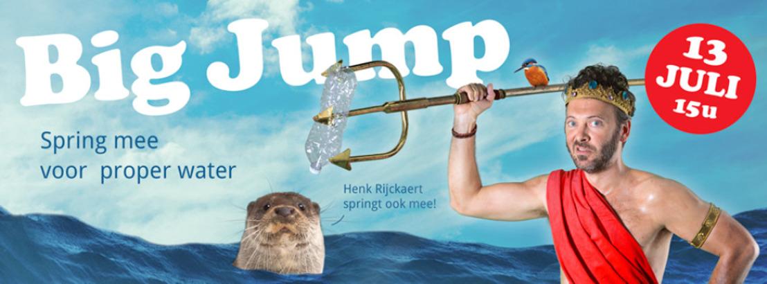 De Big Jump in Oudenaarde: waterkwaliteit Schelde leidt tot rijkere biodiversiteit