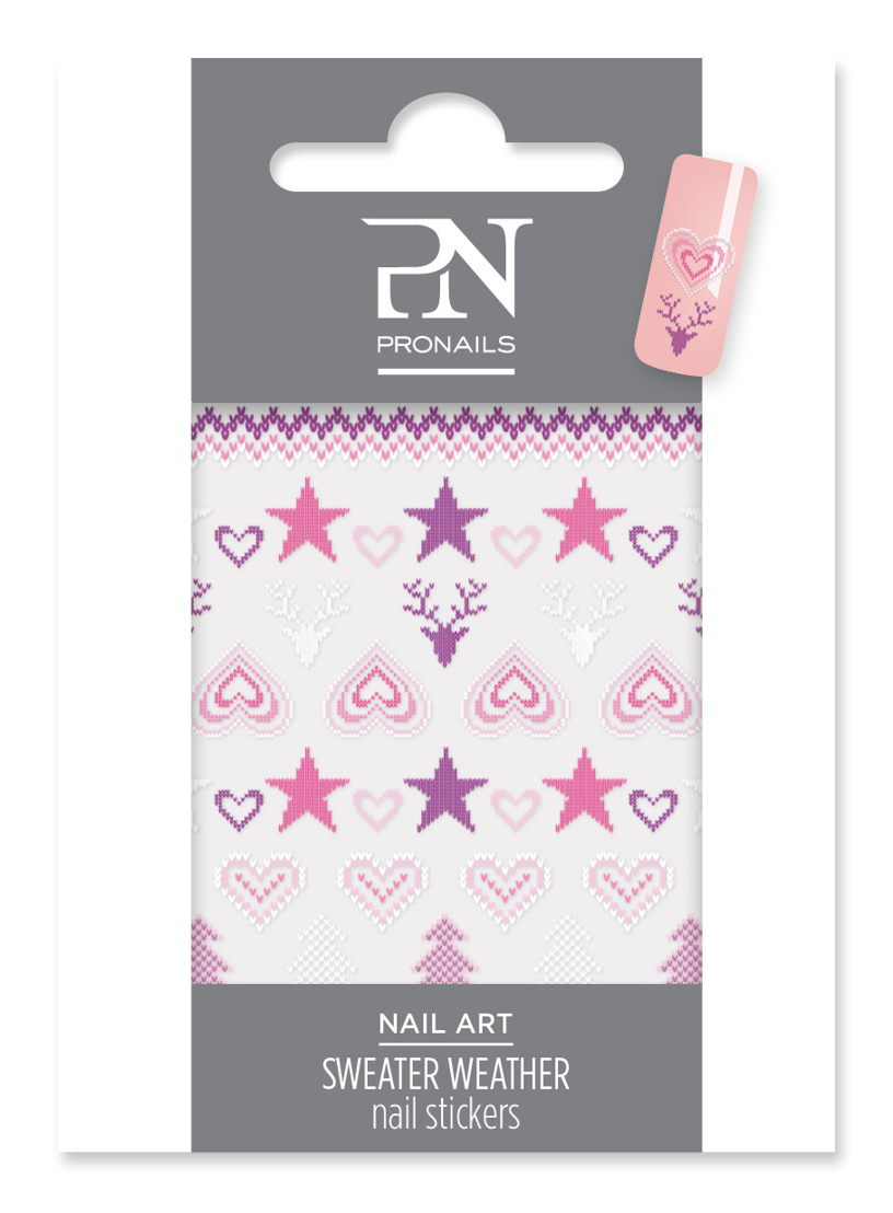 Nail Stickers Sweater Weather uit Back to Wool collection