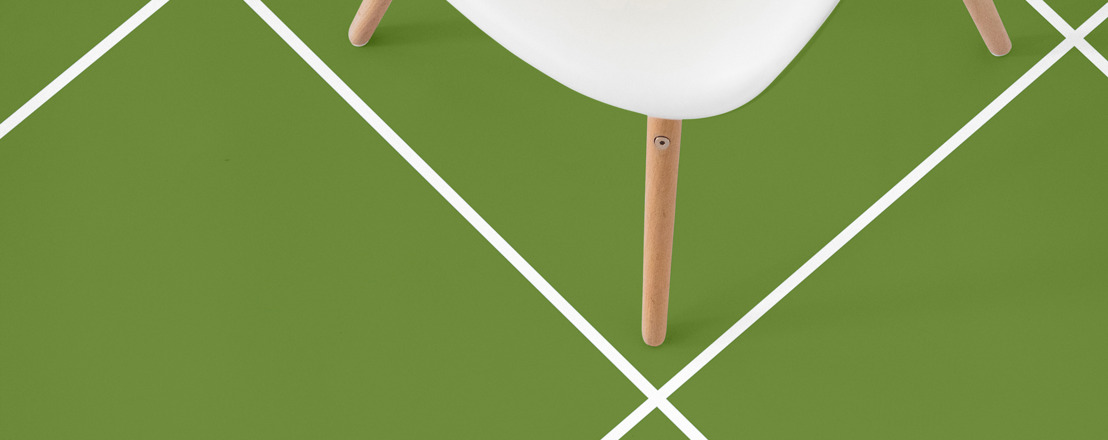 Keep the jubilation of Wimbledon going with these custom tennis court flooring designs