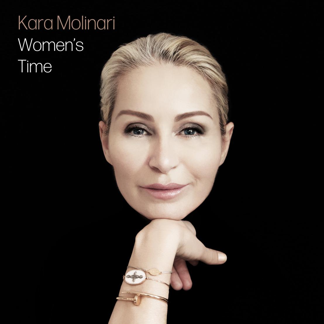 """KARA MOLINARI : nouveau single """"Women's Time"""""""