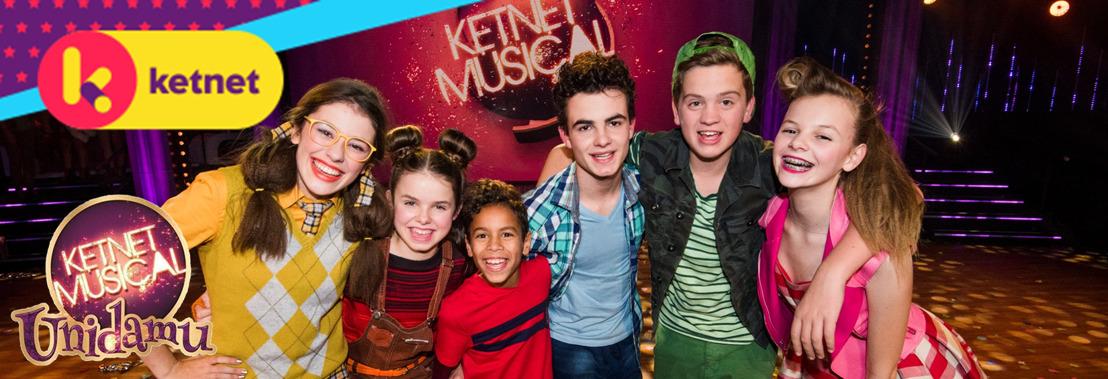 """Junes Callaert en Aaron Van Goethem spelen hoofdrollen in Ketnet Musical """"Unidamu"""""""